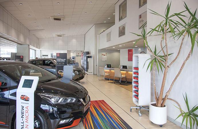 One network; multiple car dealership sites