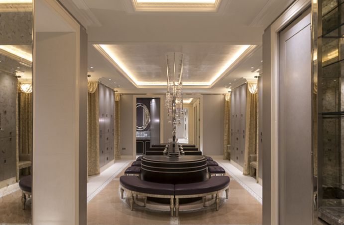 Micron leads the technology for luxury London spa
